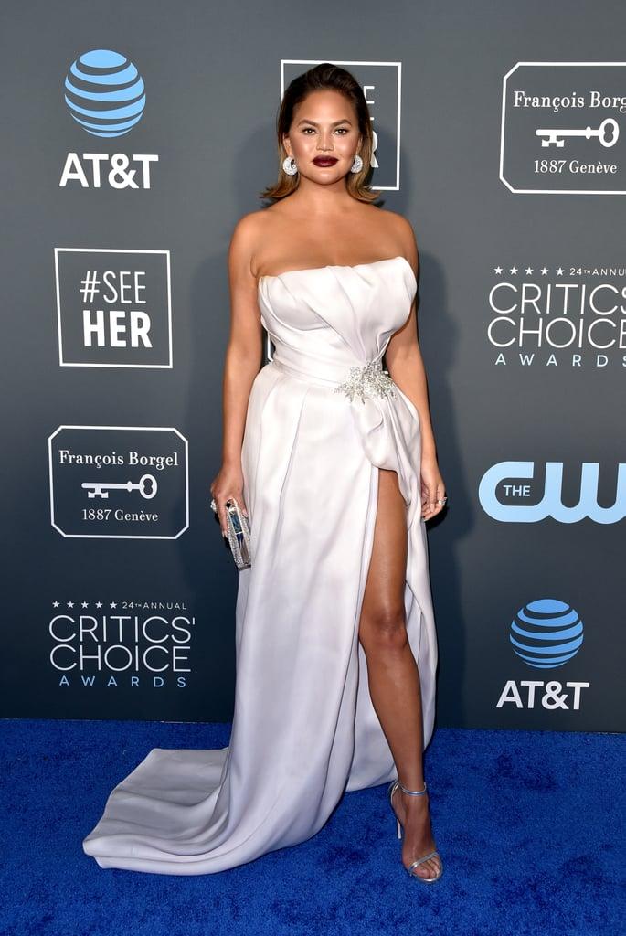 Chrissy Teigen and John Legend at the 2019 Critics' Choice