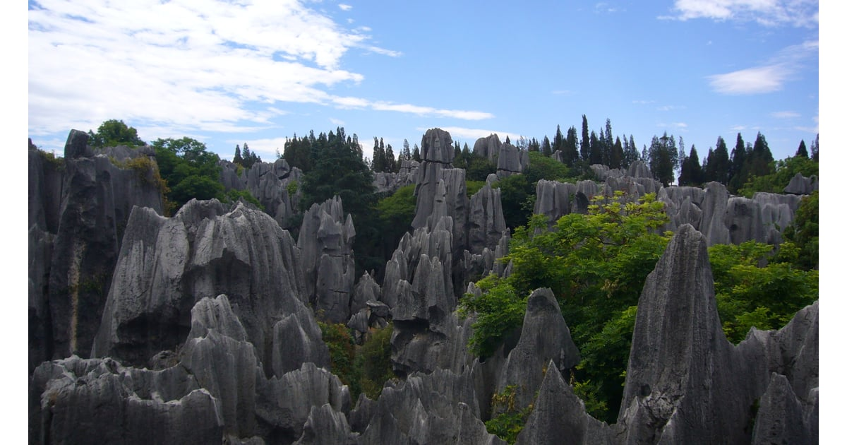 Stone Forest China Unreal Travel Destinations