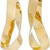 Jennifer Fisher Script Gold-Plated Earrings