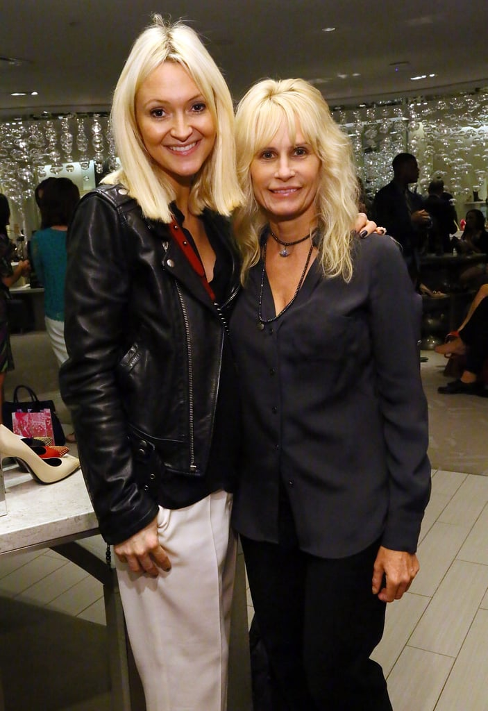 Zanna Roberts Rassi and Lisa Capparelli kicked off Marie Claire Shoes at a Saks shopping event.