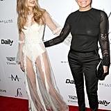 Gigi and Yolanda Hadid at Fashion Los Angeles Awards 2016