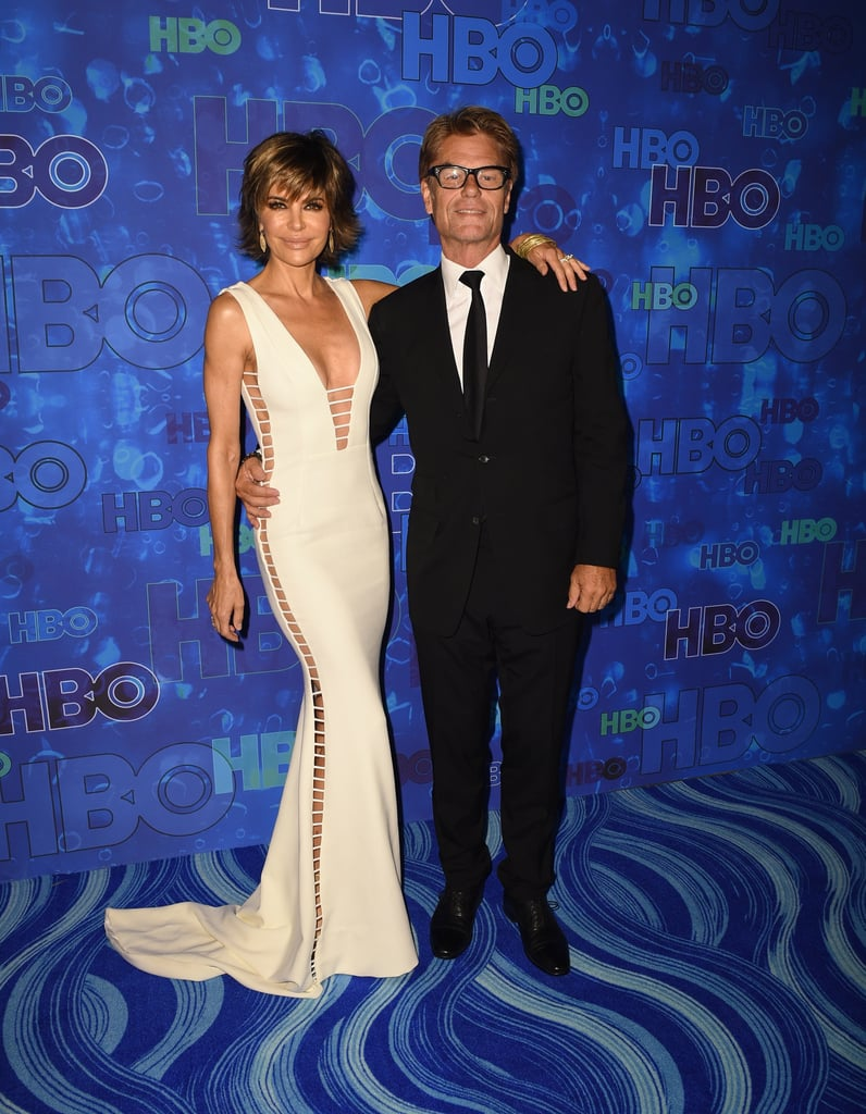 Pictured: Lisa Rinna and Harry Hamlin