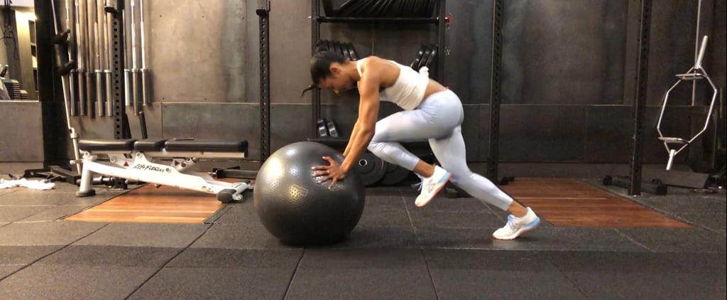 How to Do Stability Ball Mountain Climbers