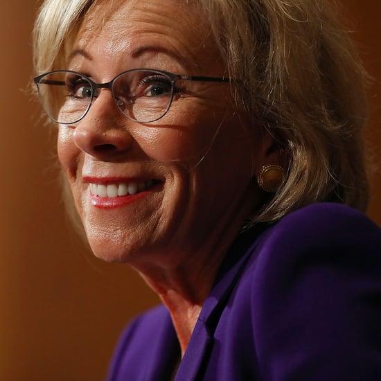 Betsy DeVos Donates to Republican Senators