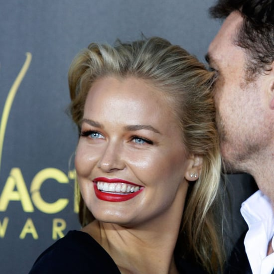 Lara Bingle at the AACTA Awards With Delta Goodrem