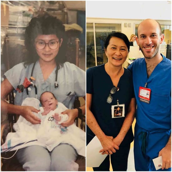 Baby Grows Up to Work at the Same Hospital His Nurse Does