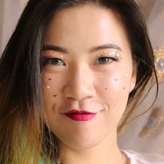 Woman Covers Breakout With Heart Freckles