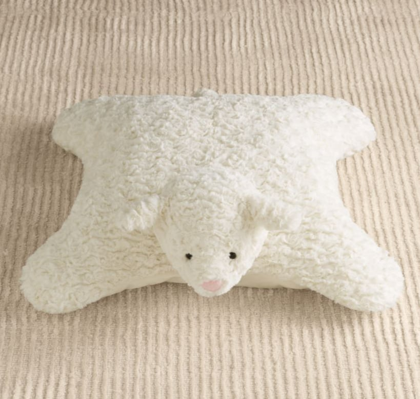 For Infants: Plush Lamb Floor Pillow | Best Gifts For Kids 2014 ...