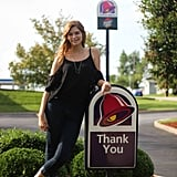 Student Takes Senior Portraits at Taco Bell