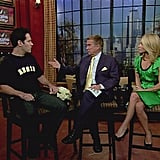 Paul Rudd showed his love for Regis on a tee during a June 2008 interview.
