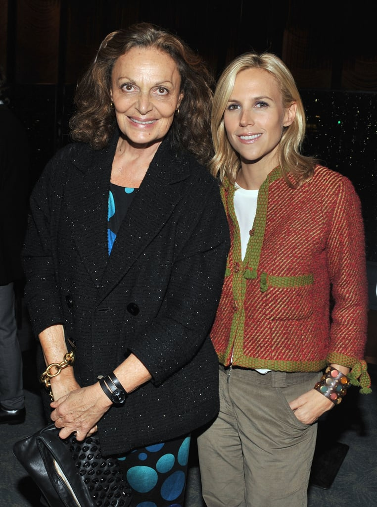 Diane Von Furstenberg and Tory Burch