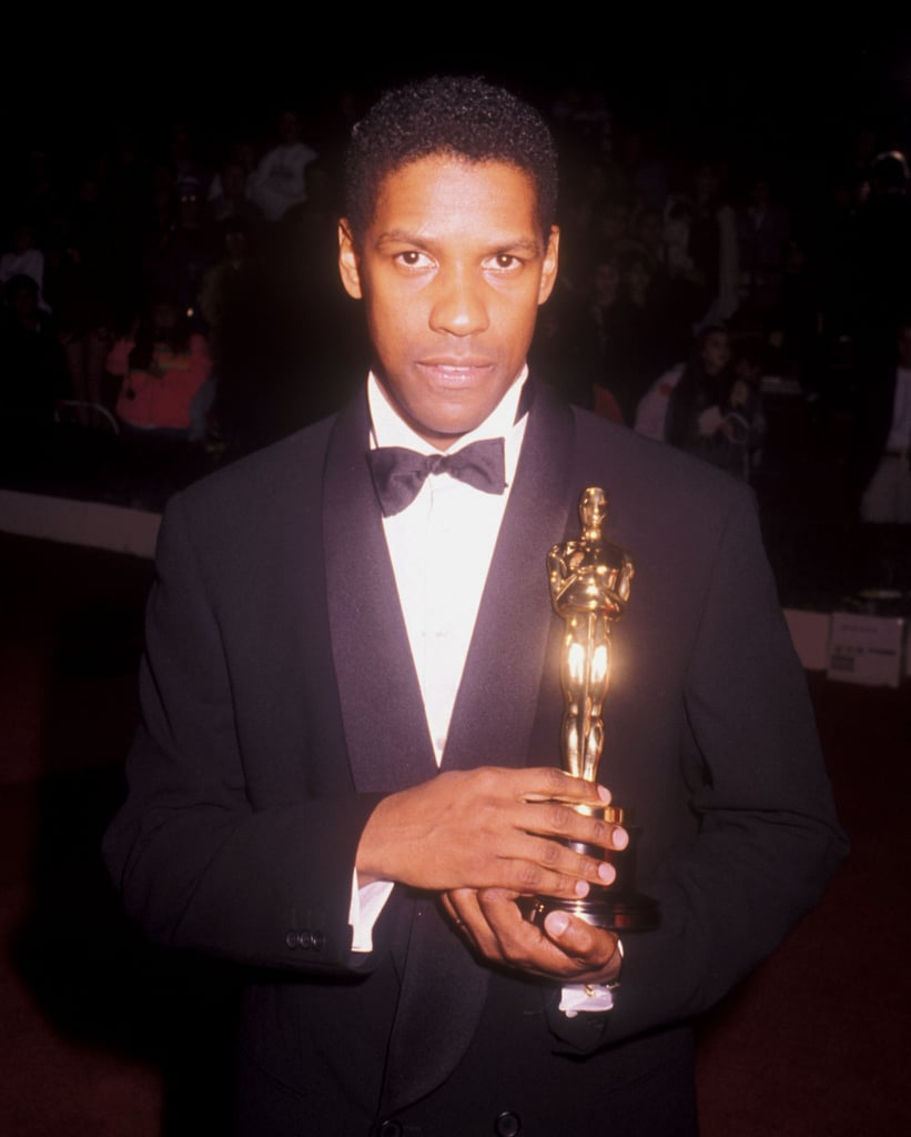 Denzel Washington at the 62nd Annual Academy Awards in 1990