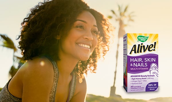 Shop Alive!® Hair, Skin & Nails Multi-Vitamin