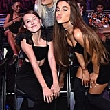 Millie Bobby Brown, Bebe Rexha and Ariana Grande