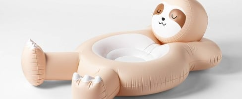 This Sloth Pool Float From Target Is Only $20!