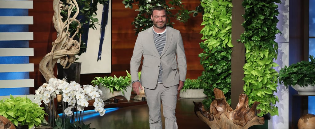 Liev Schreiber Talking About His Kids on Ellen January 2019