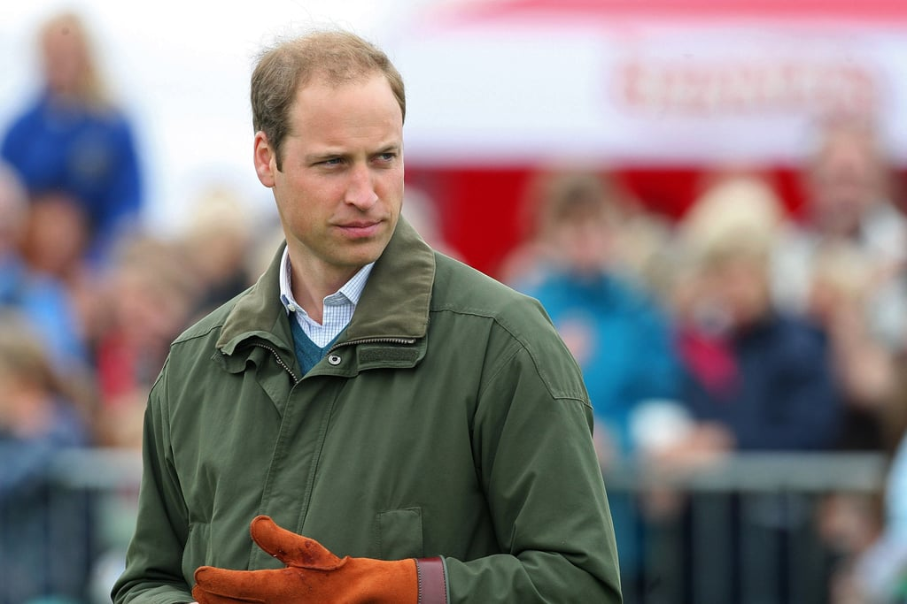 "Prince William Trades ""Extremely Good-Looking"" George For Handsome Animals"
