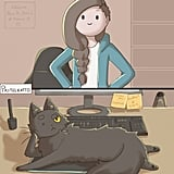 Artist's Comics on What It's Like to Have a Cat or Dog