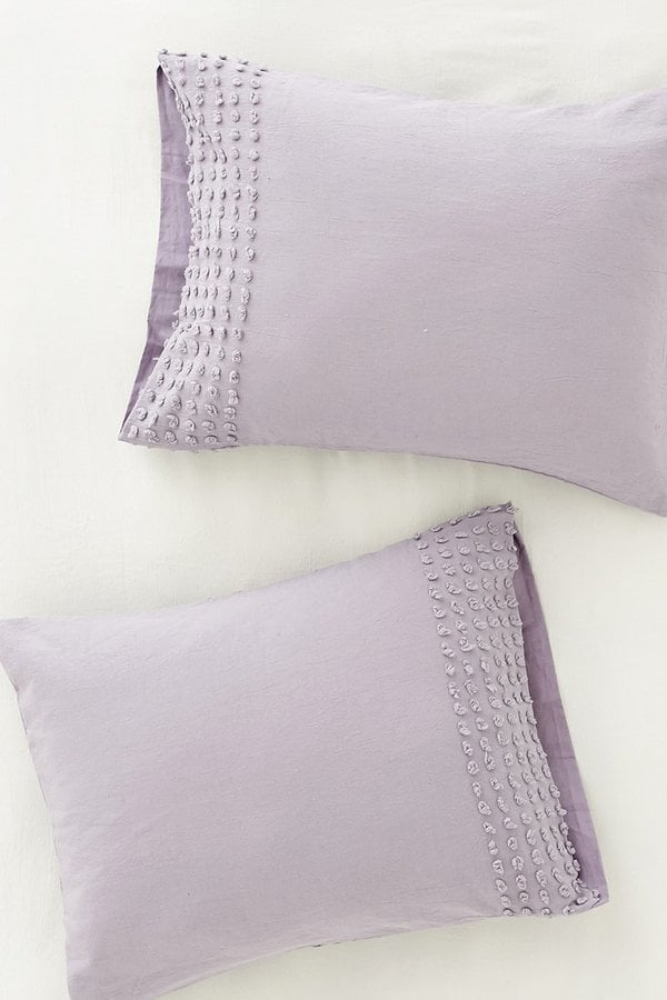 Urban Outfitters Plum & Bow Tufted Dot Sham Set