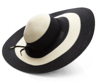 """This two-tone Eugenia Kim topper proves essential on sun-soaked Spring days!""