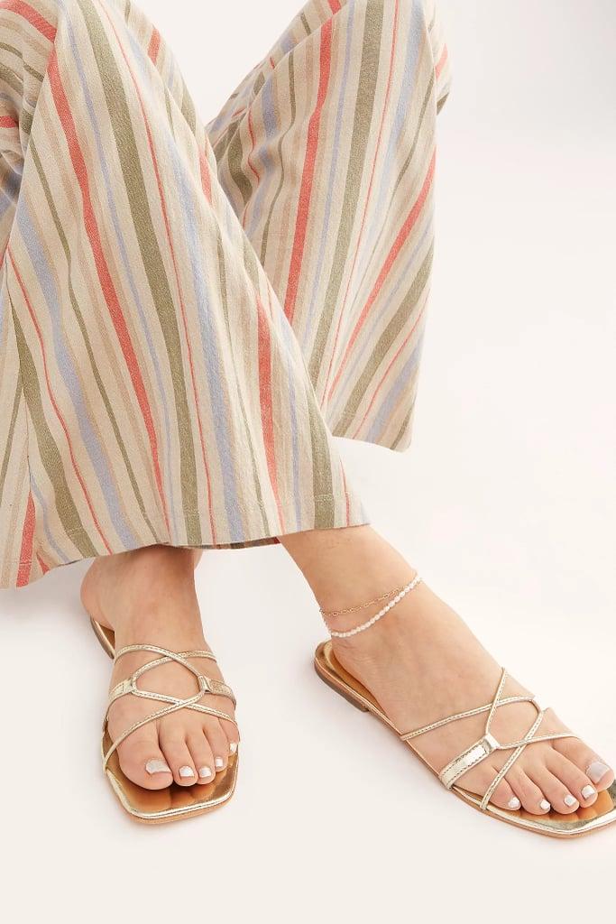 FP Collection Santa Monica Slide Sandals