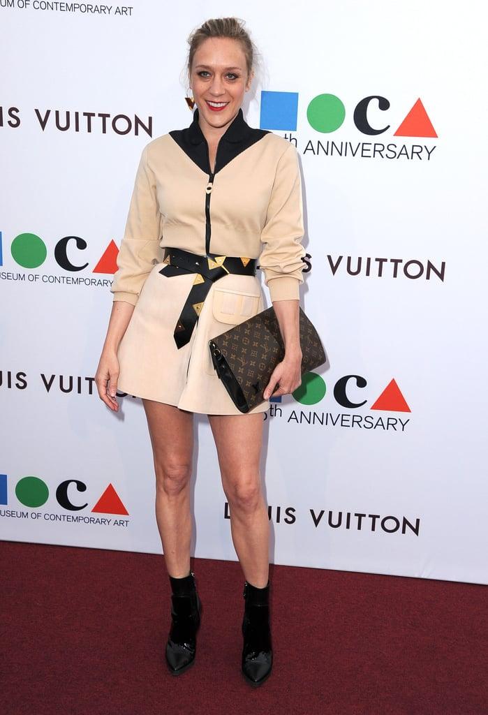 Chloë Sevigny showed off her toned stems.
