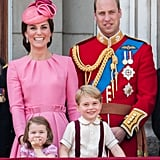 Trooping the Colour Kate and William