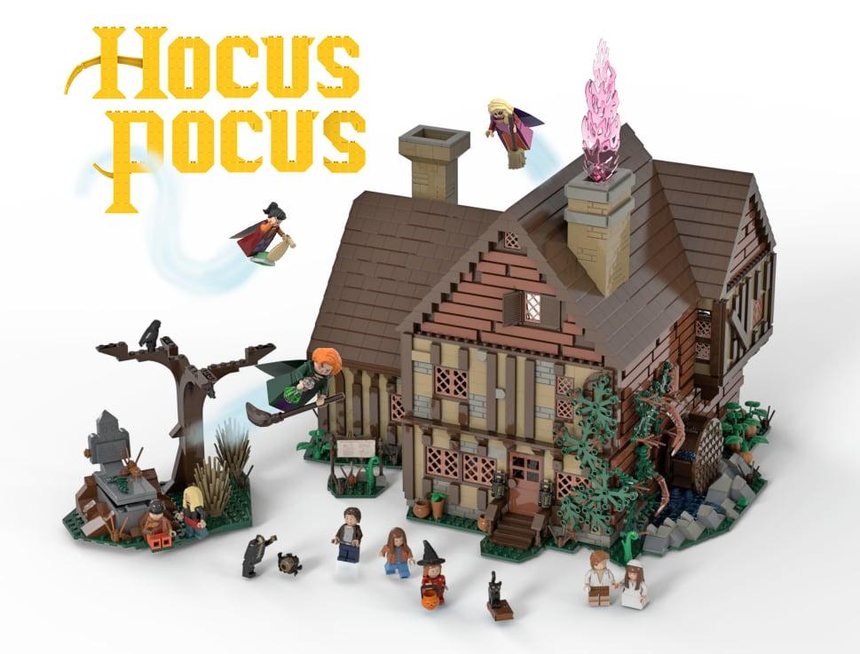 Hocus Pocus Sanderson Sisters' Cottage Build
