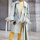If You're Feeling Daring, Rock a Distressed Style With a Trench