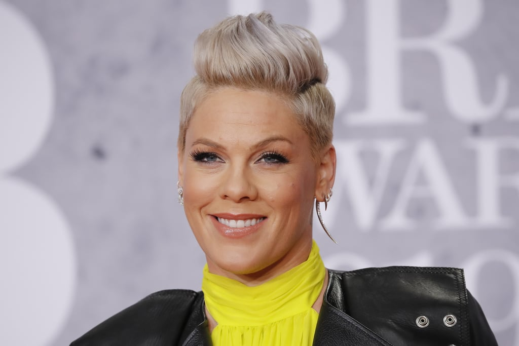 Pink Just Debuted An Edgy Buzzcut See The First Photo Popsugar Beauty Australia