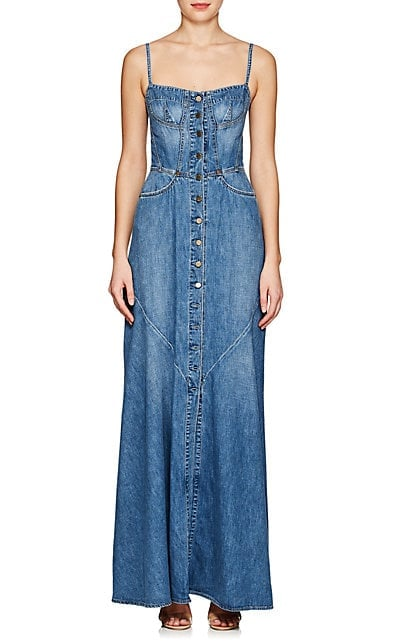 Jean Atelier Agnes Denim Maxi Dress