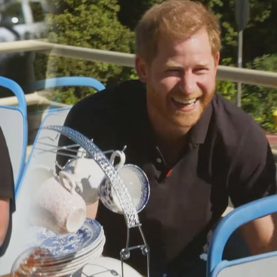 Prince Harry Opens Up on James Corden's Late Late Show Video