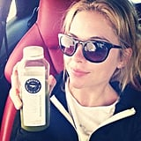 Ashley Benson embarked on the second day of her juice cleanse. Source: Instagram user itsashbenzo