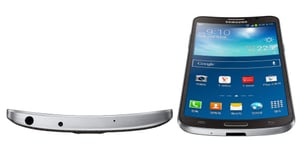 Ahead of the Curve: Samsung's Galaxy Round Gets a Flexible Display