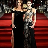 Cindy Crawford and Kaia Gerber 2018 British Fashion Awards