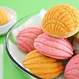 Colorful Mexican Sweet Buns