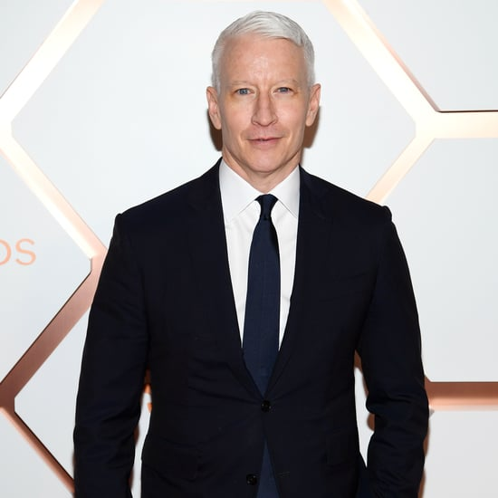 Anderson Cooper Game of Thrones White Walker Makeup