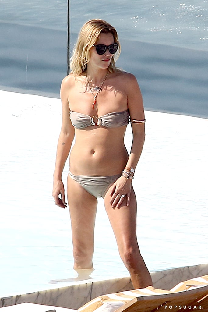 For Kate Moss, Life's a Beachside Pool in Brazil