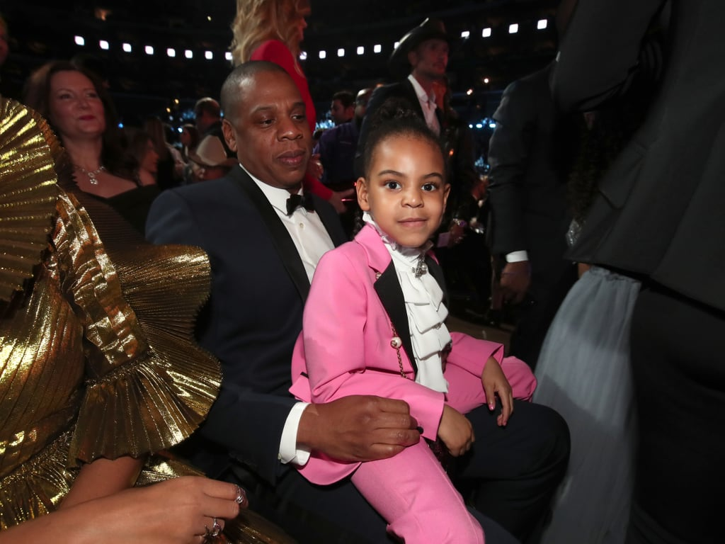 Beyoncé may have sent us into minor cardiac arrest with her show-stopping Grammys performance, but it was little miss Blue Ivy Carter who arguably had the best night on Sunday. In addition to hitting up the show dressed as a miniature version of late singer and fashion icon Prince, the big-sister-to-be appeared to have a blast cheering on her famous mom with dad Jay Z and jumping into James Corden's star-studded Carpool Karaoke session. Still, the best moments might have been the ones you didn't see on TV, like when she made a silly face at James in the audience or when she casually chatted it up with Rihanna, who also seemed to be having a good time. It's safe to say Blue was definitely enjoying her night.      Related:                                                                45 Grammys Moments You Most Definitely Missed on TV                                                                   The 2017 Grammys Red Carpet Was Buzzing With Style                                                                   Announcing the 2017 Grammy Winners!