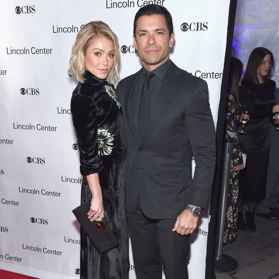 Kelly Ripa and Mark Consuelos at American Songbook Gala 2017