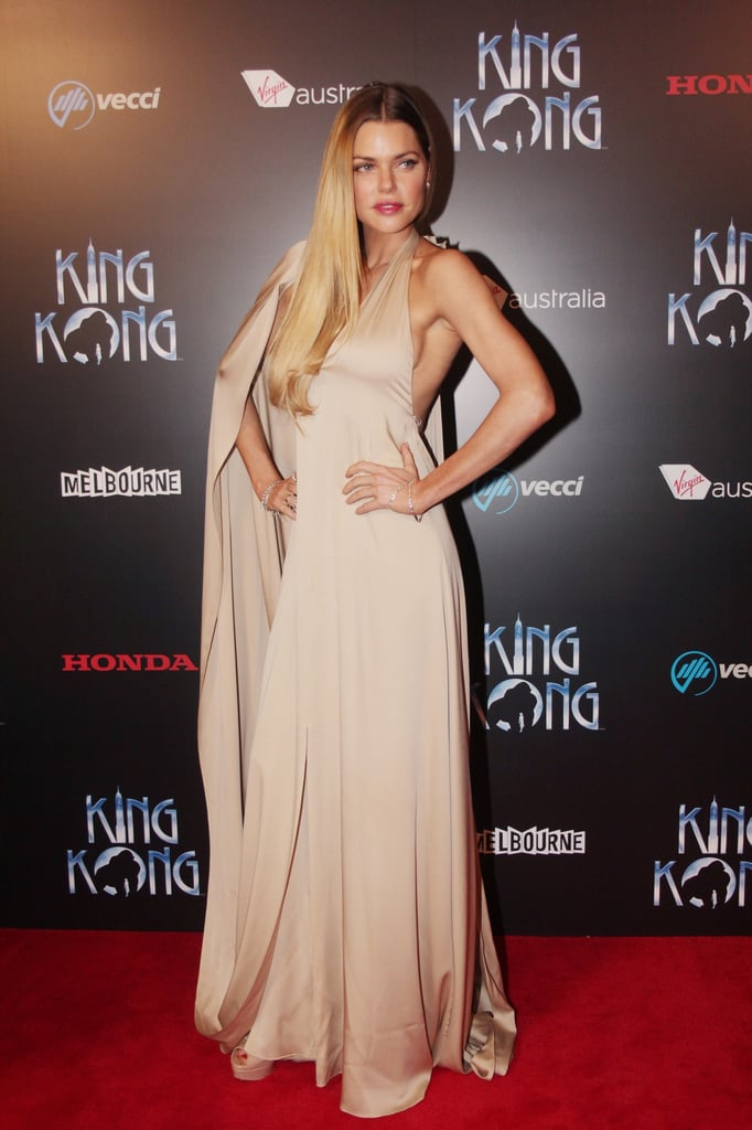 Sophie Monk attended the opening night performance of King Kong, the musical, at the Regent Theatre in Melbourne on June 15.