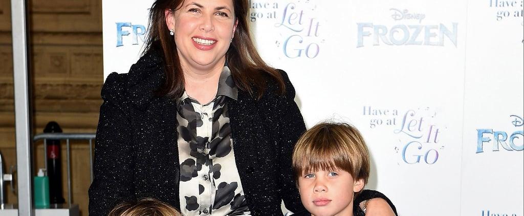 Kirstie Allsopp Flies Business Class With Kids in Coach
