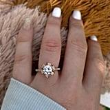 Barkev's Rose Gold Engagement Ring