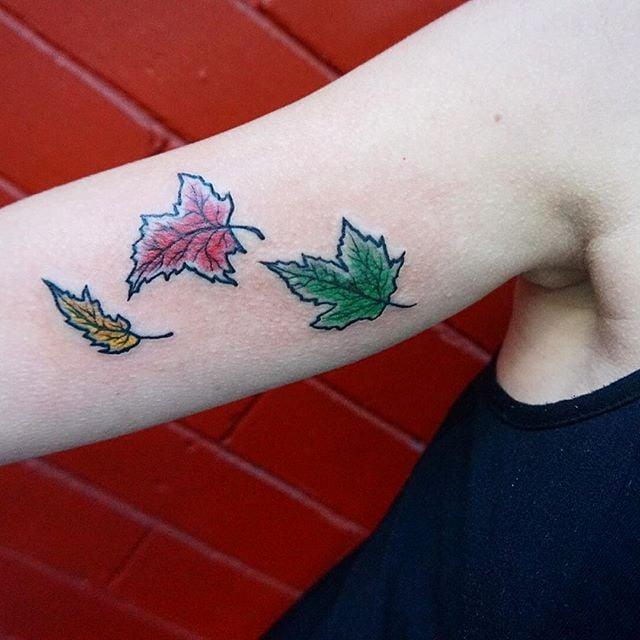 Fall-Inspired Tattoos   POPSUGAR Beauty Photo 12