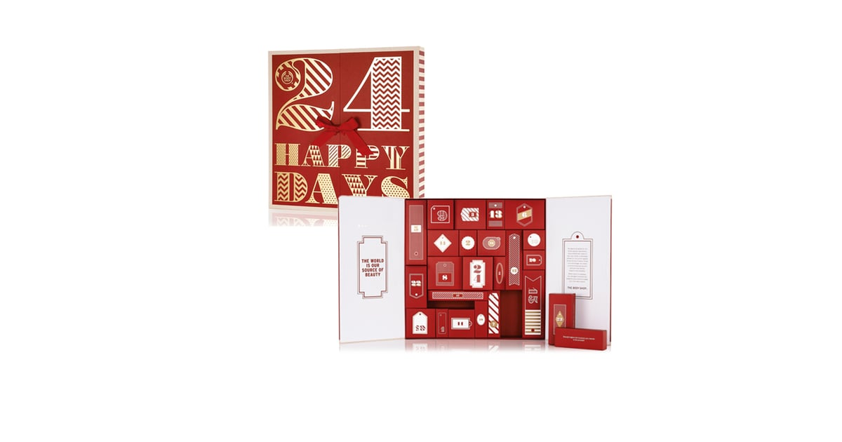 the body shop 24 happy days advent calendar 199 best. Black Bedroom Furniture Sets. Home Design Ideas