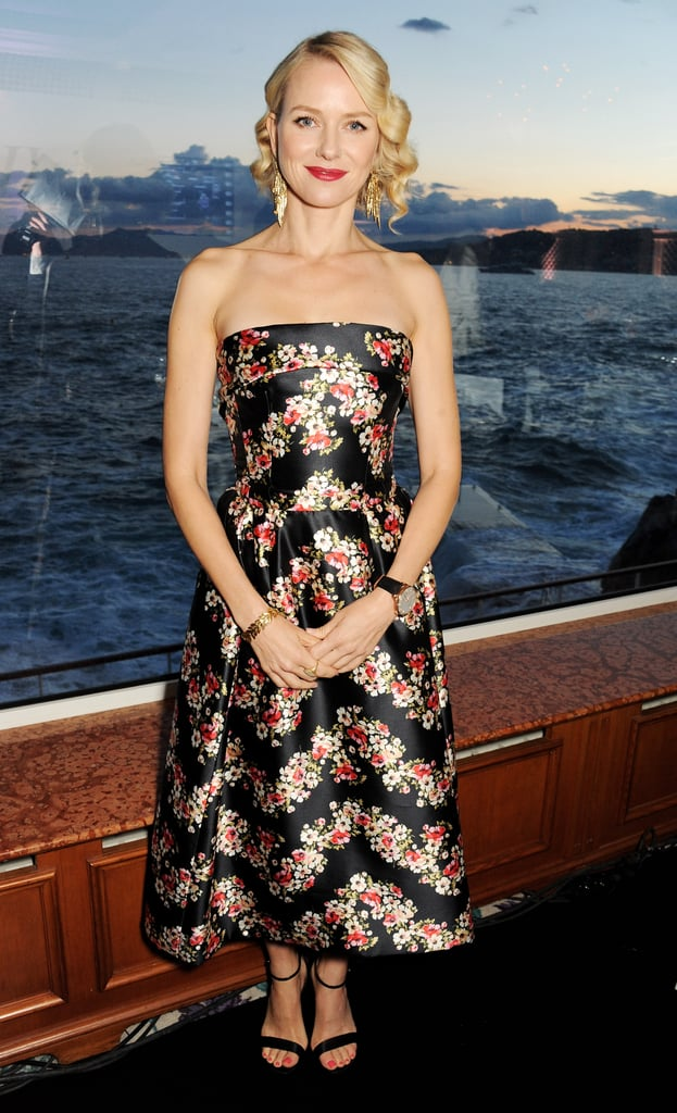 Naomi Watts attended the Swiss watch brand IWC Schaffhausen's For the Love of Cinema party.