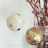 Brass-Tack Ornaments