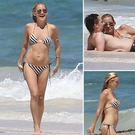 Kate Hudson Bikini Pictures in Mexico With Matthew