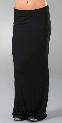 Fab's 10 Fall Essentials: Black Maxi Skirt