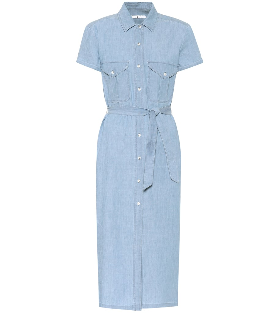 7 For All Mankind Chambray Dress
